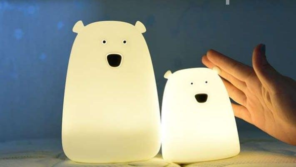Image de 'Unicel lampe led silicone ours small'